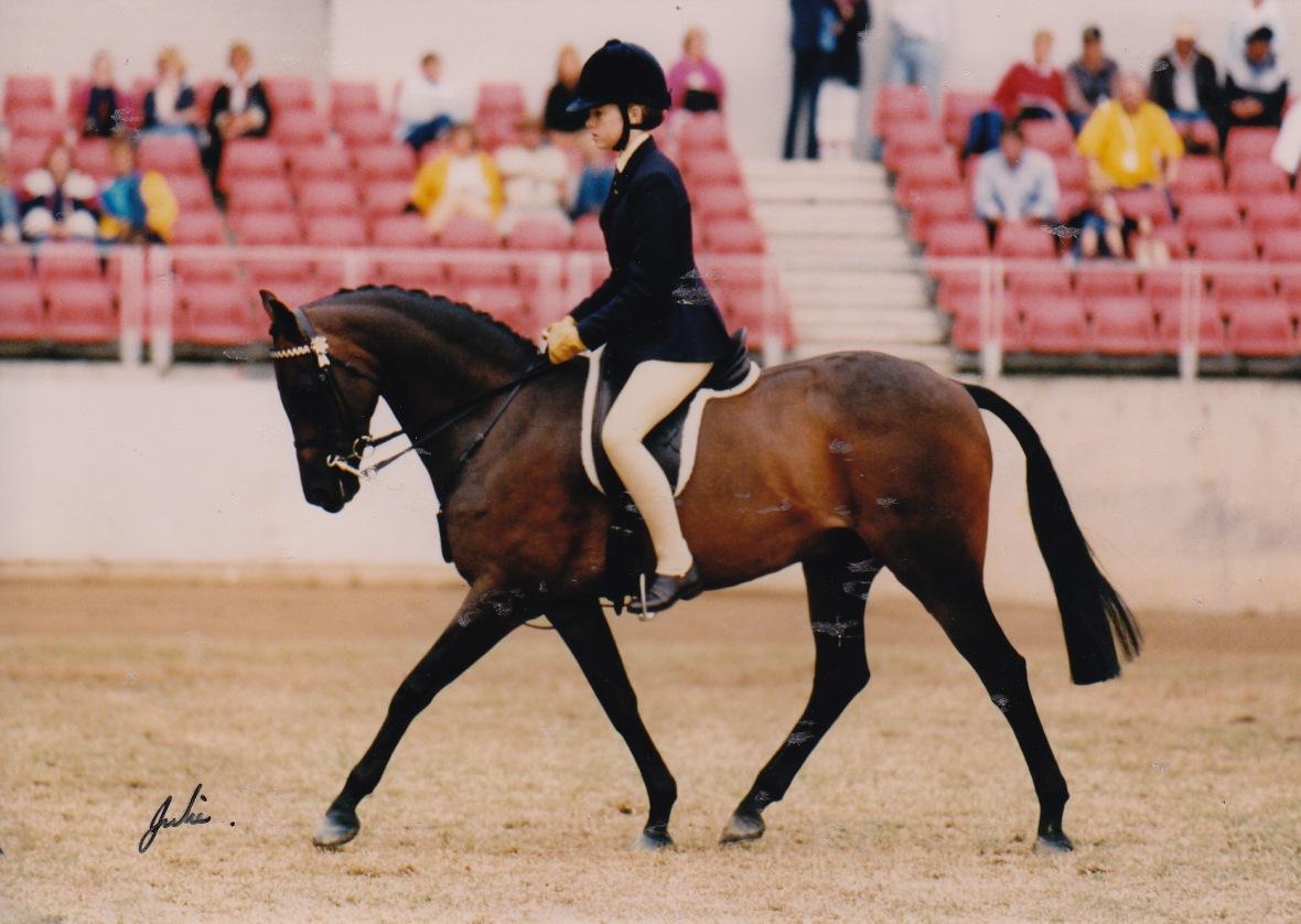 Sydney Royal 2002 - 4th Novice Galloway